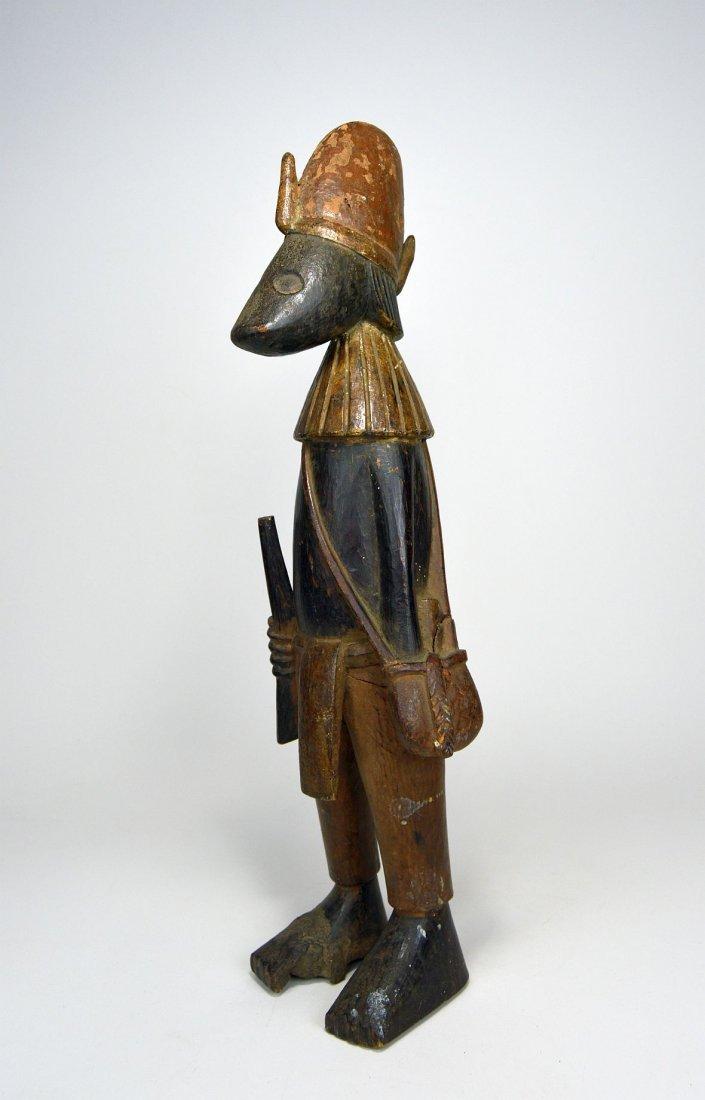 "Senufo ""Guardian"" Sculpture, African Tribal Art - 2"