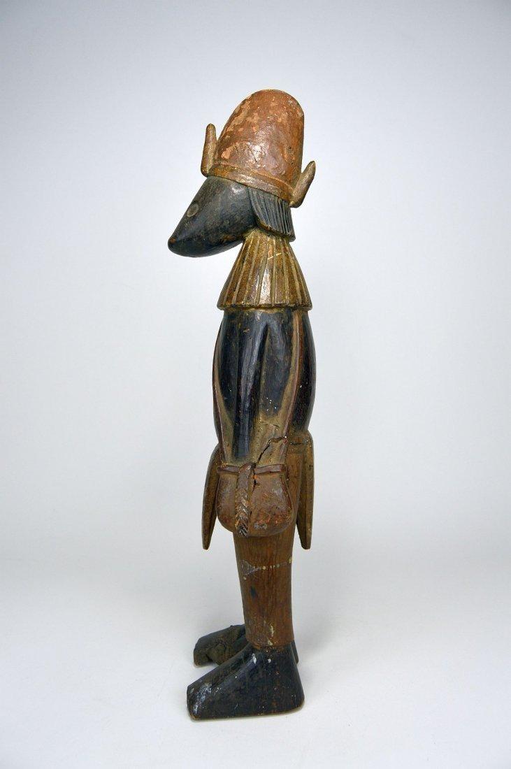 "Senufo ""Guardian"" Sculpture, African Tribal Art - 5"