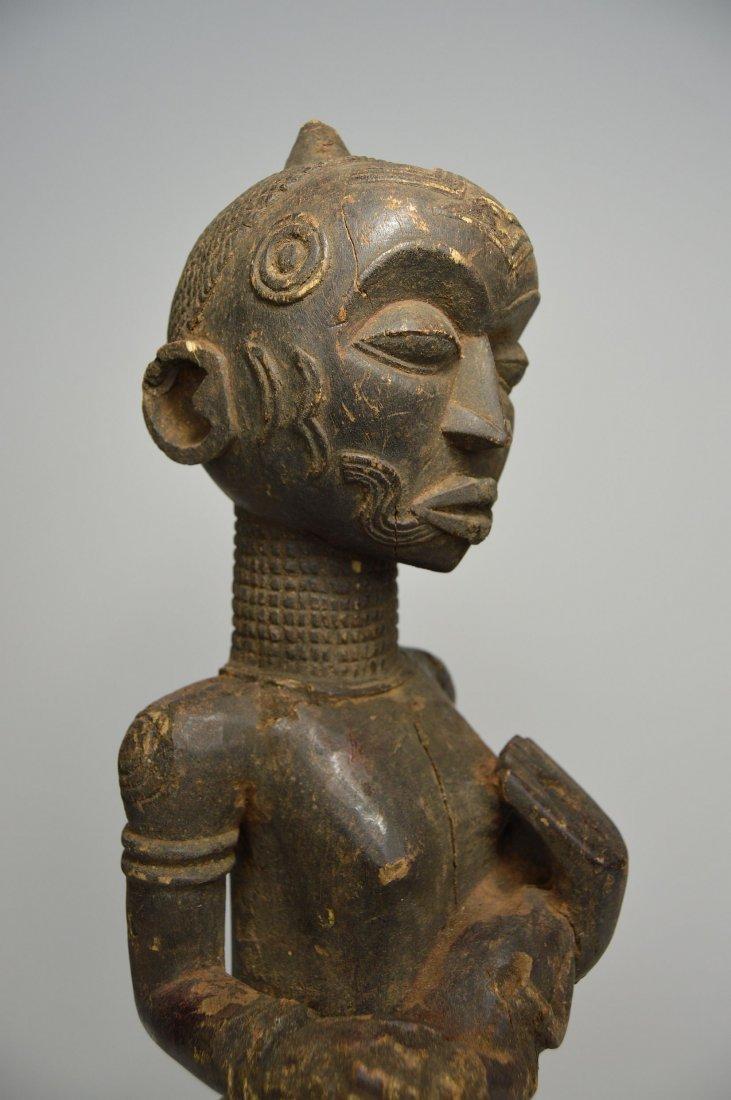 Bena Lulua maternity sculpture, African Art