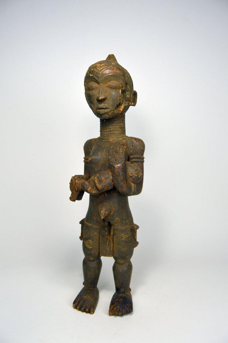 Bena Lulua maternity sculpture, African Art - 2