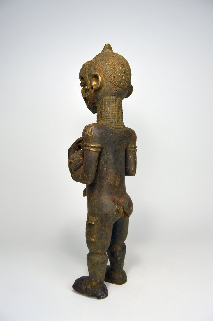 Bena Lulua maternity sculpture, African Art - 4