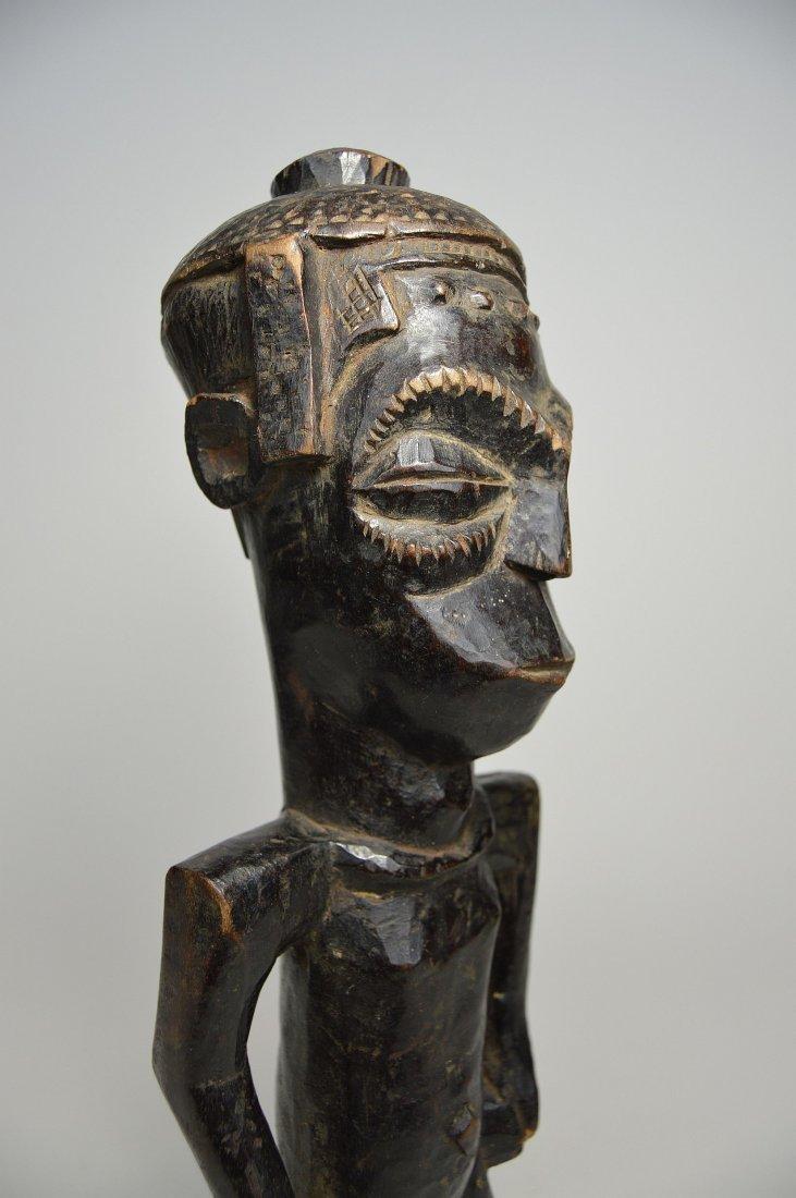 Vintage Kuba Male Sculpture, African Art