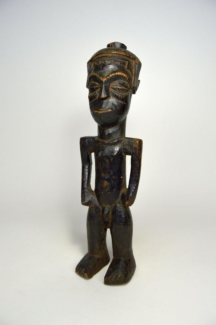 Vintage Kuba Male Sculpture, African Art - 3