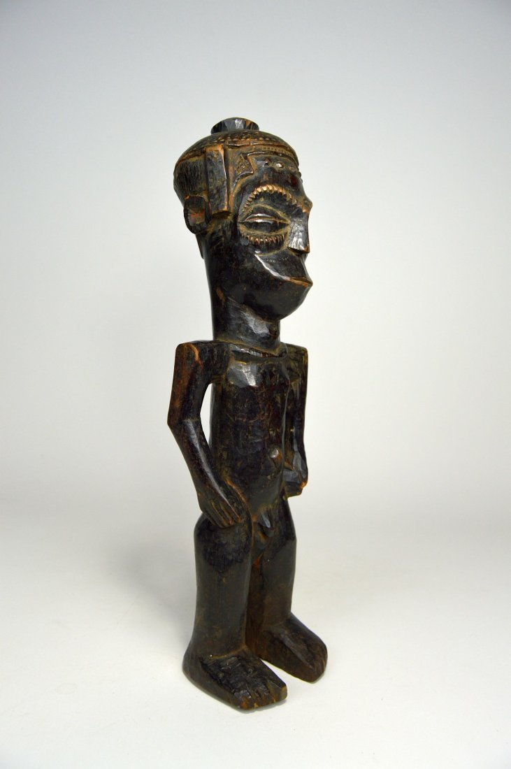 Vintage Kuba Male Sculpture, African Art - 8