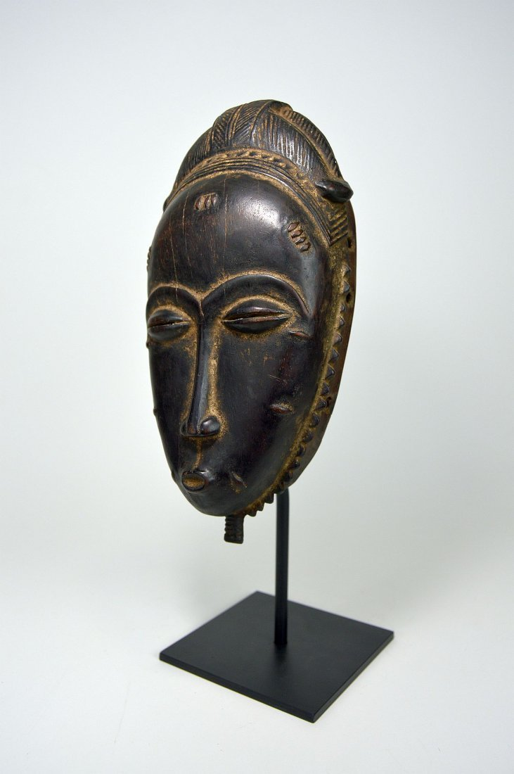 A Very Fine Baule Portrait Mask, African Art - 2