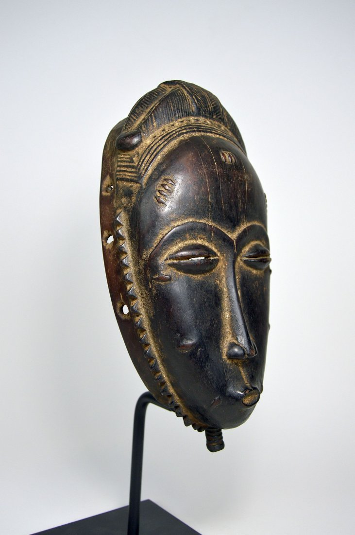 A Very Fine Baule Portrait Mask, African Art - 4