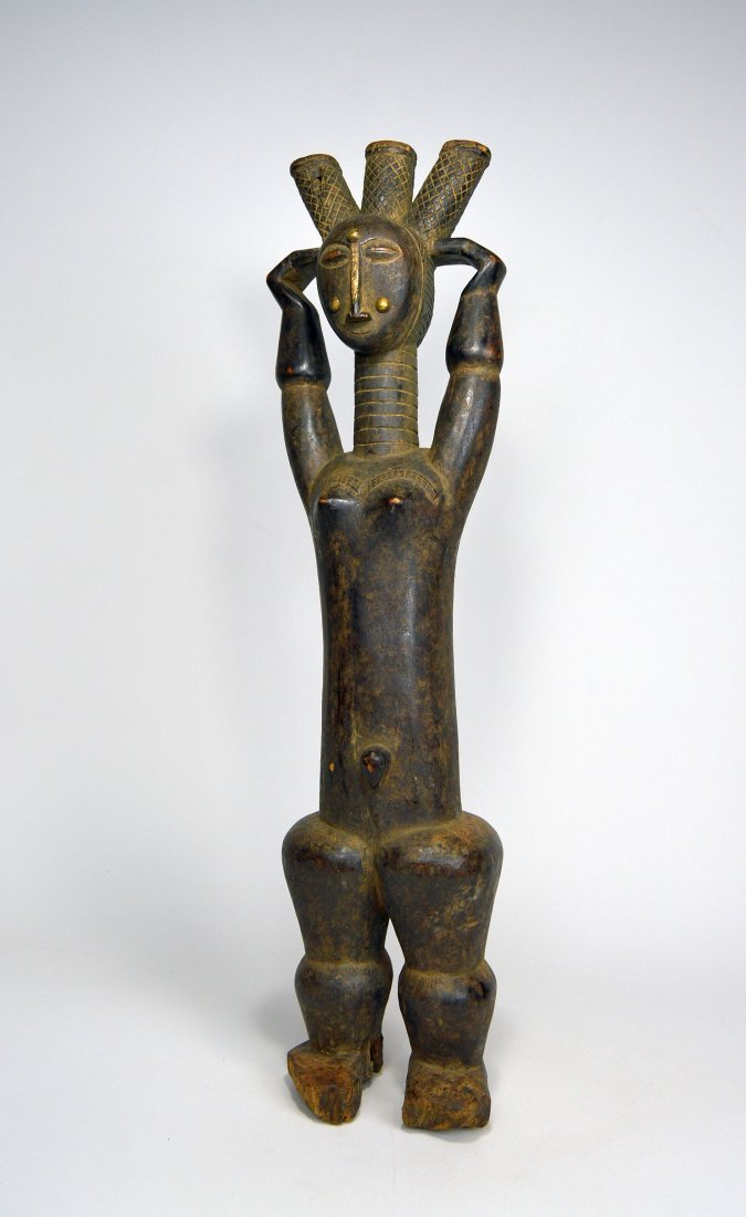 Beautiful Old Attie Female sculpture, African Art