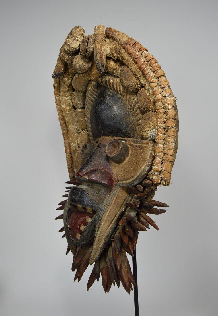 Fantastic Gere African mask - 2