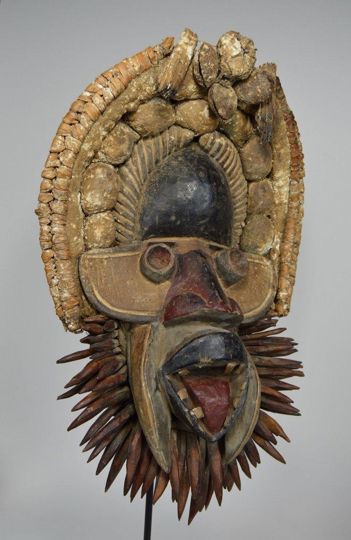 Fantastic Gere African mask - 3