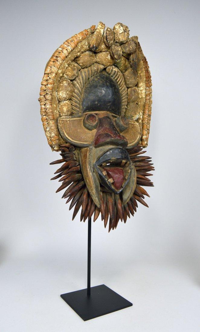Fantastic Gere African mask - 4