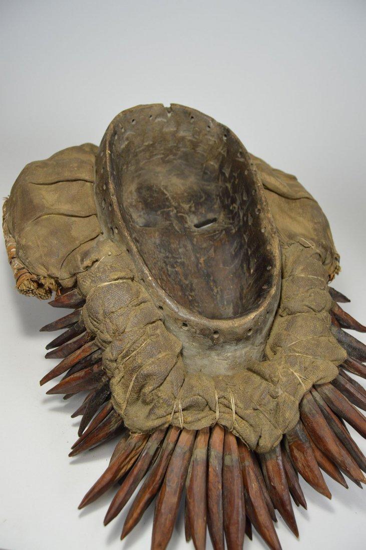 Fantastic Gere African mask - 5