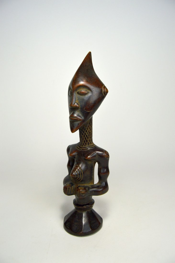 A Finely carved Lulua sculpture, African Art - 3