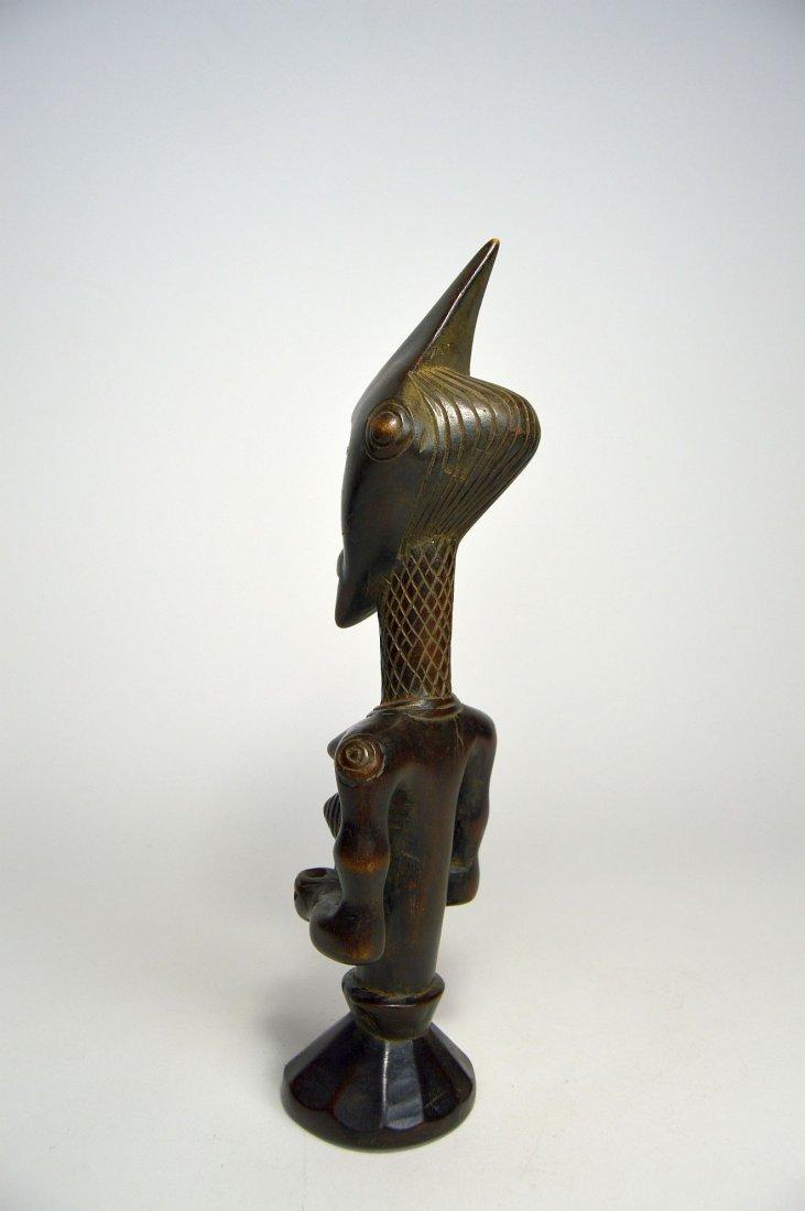 A Finely carved Lulua sculpture, African Art - 4