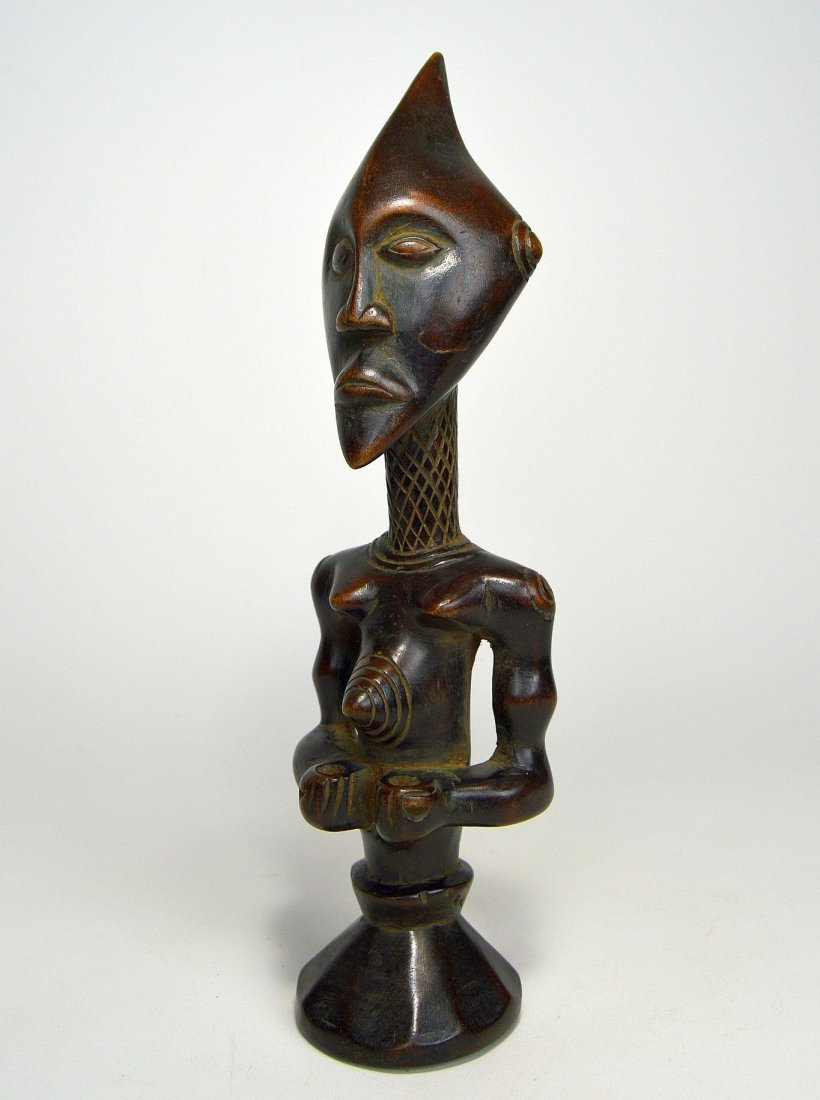A Finely carved Lulua sculpture, African Art - 5