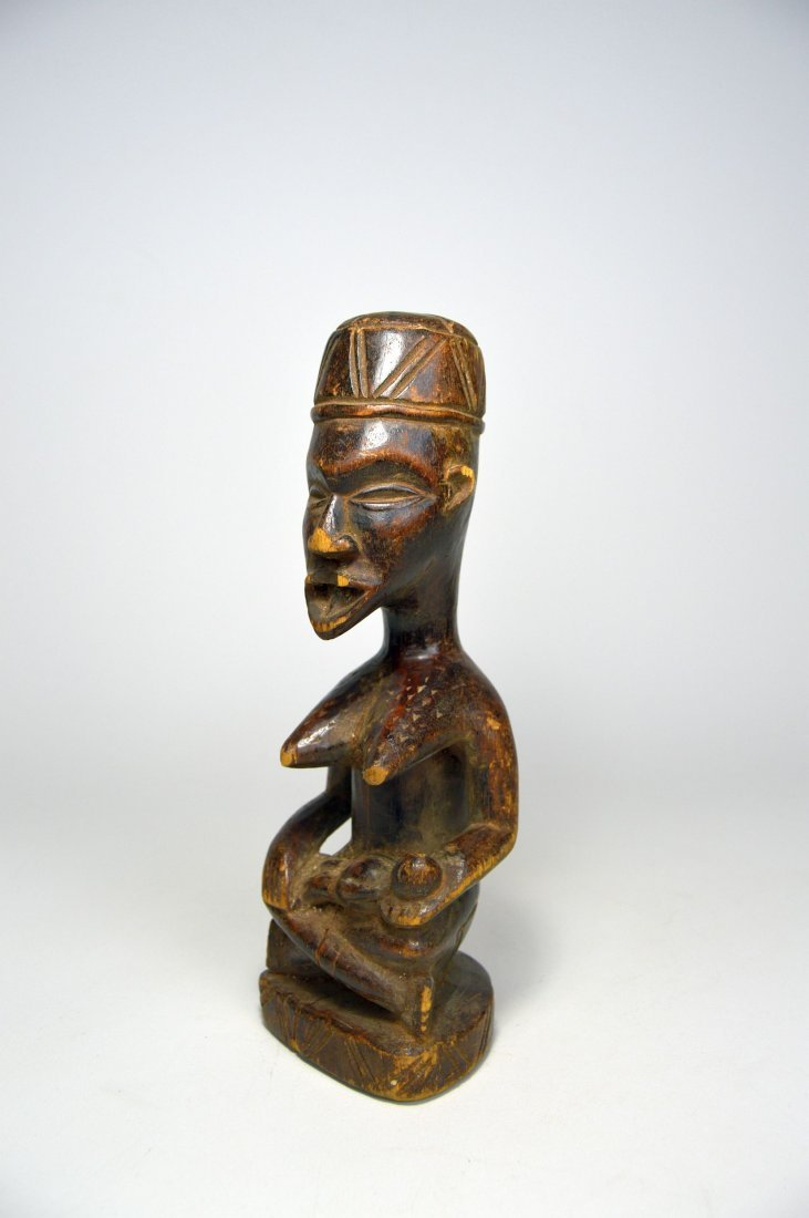Kongo Maternity sculpture, African Art