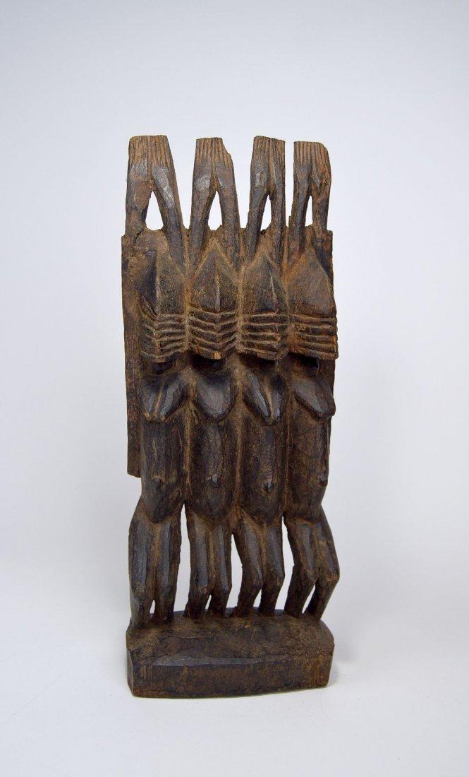 Dogon Nommo Sculpture Four Ancestors, African Art