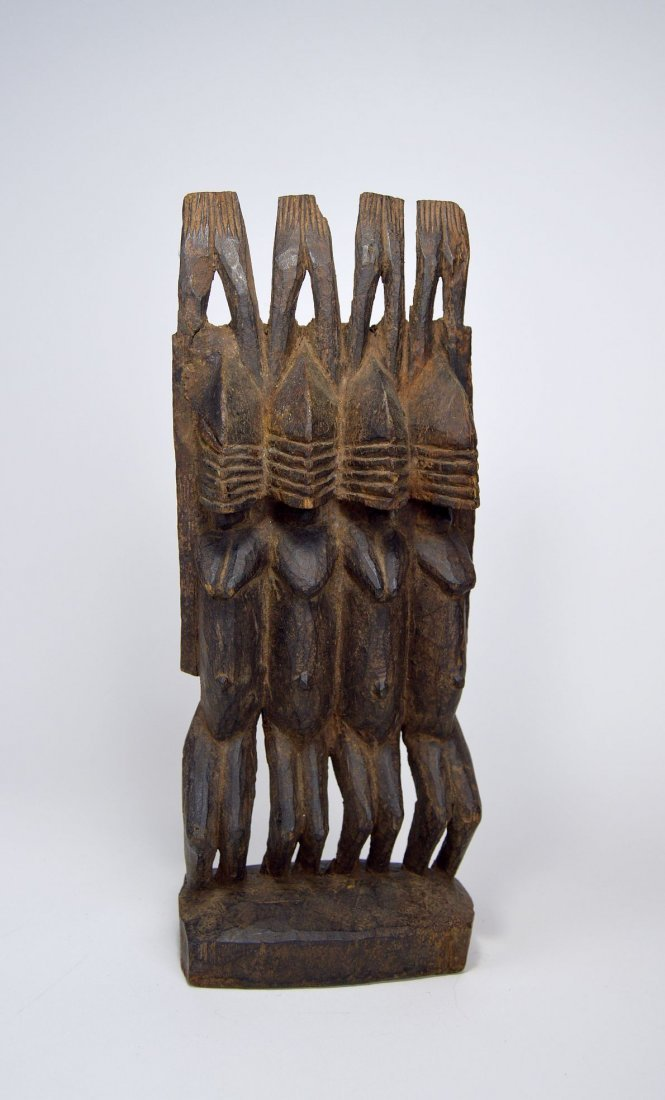 Dogon Nommo Sculpture Four Ancestors, African Art