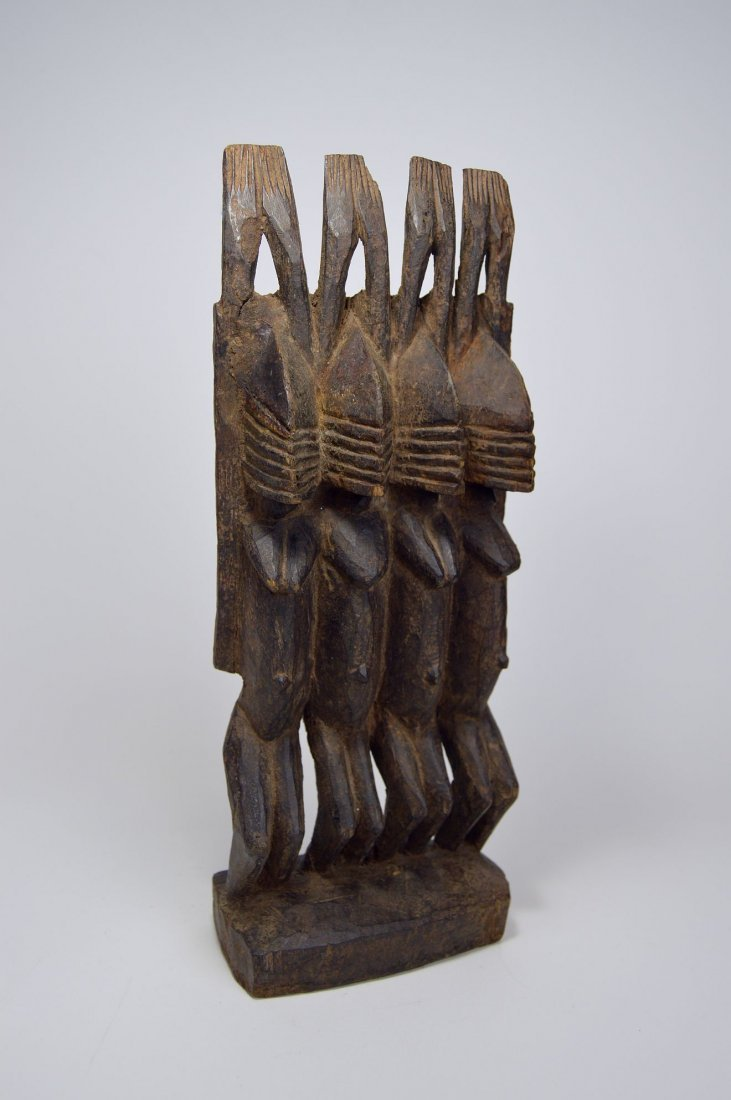 Dogon Nommo Sculpture Four Ancestors, African Art - 2