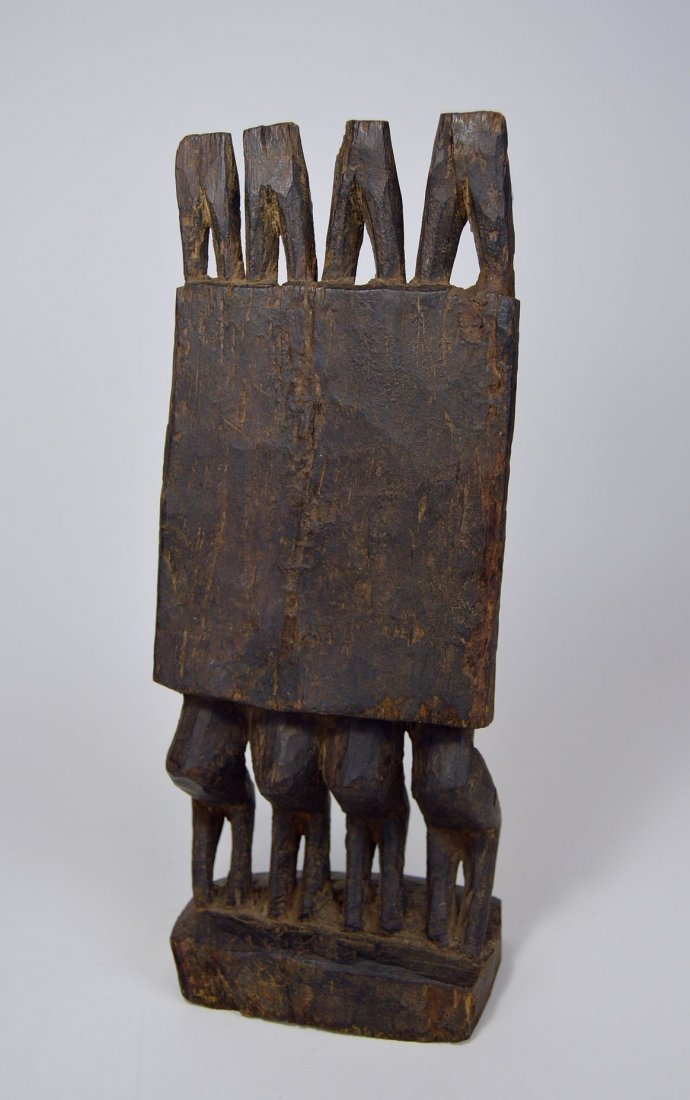 Dogon Nommo Sculpture Four Ancestors, African Art - 5