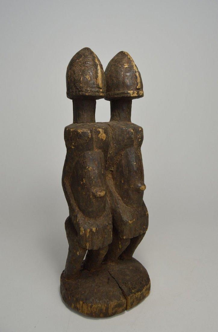 Dogon Primordial Couple Shrine figure, African Art