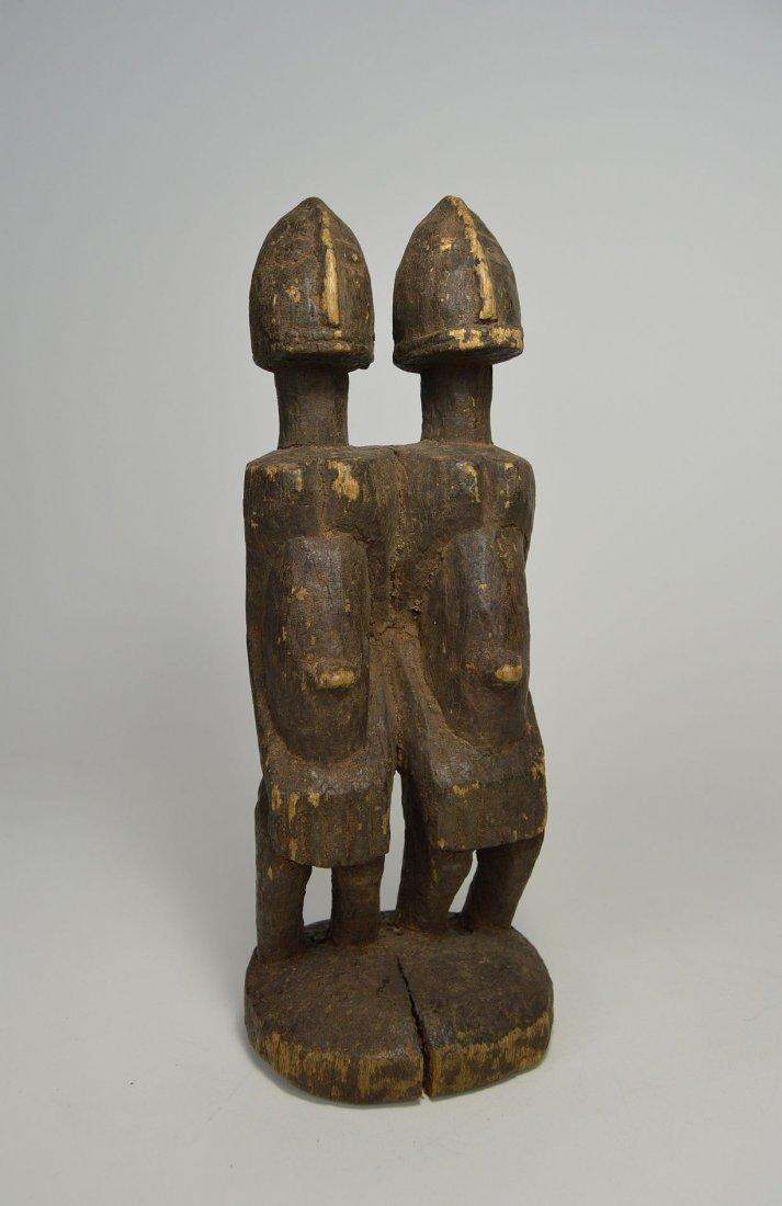 Dogon Primordial Couple Shrine figure, African Art - 2