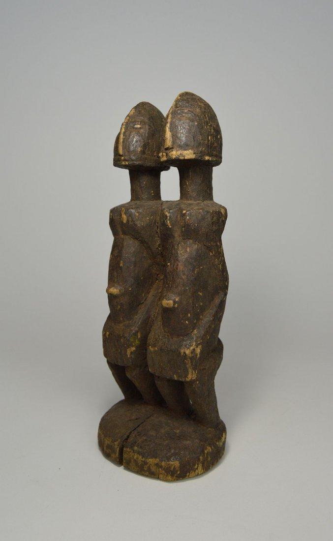 Dogon Primordial Couple Shrine figure, African Art - 3