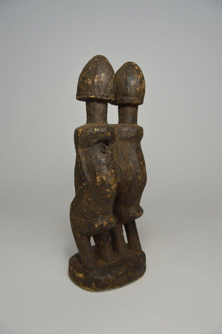 Dogon Primordial Couple Shrine figure, African Art - 4