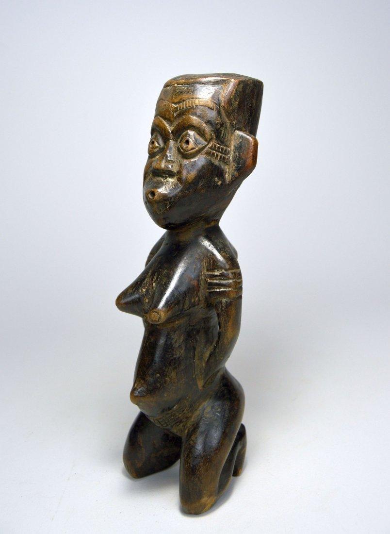 Kneeling Kuba Female sculpture, African Art