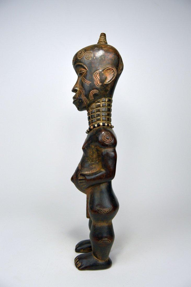 Tall Lulua Ancestor sculpture, African Art. - 2