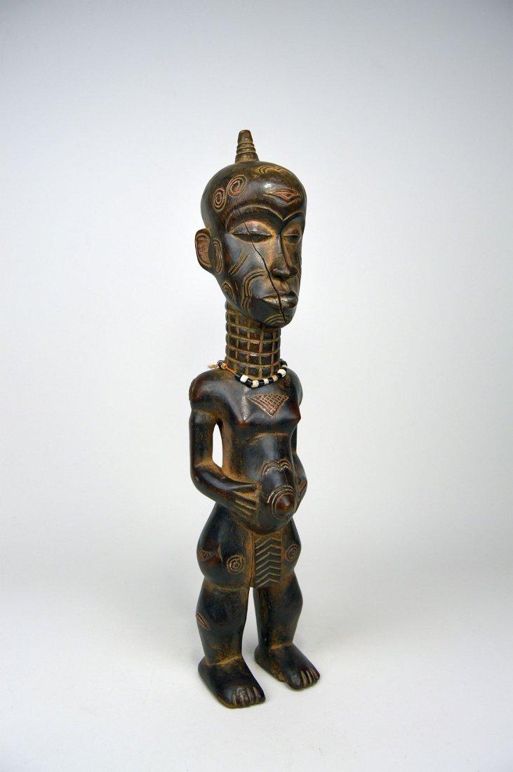 Tall Lulua Ancestor sculpture, African Art. - 4