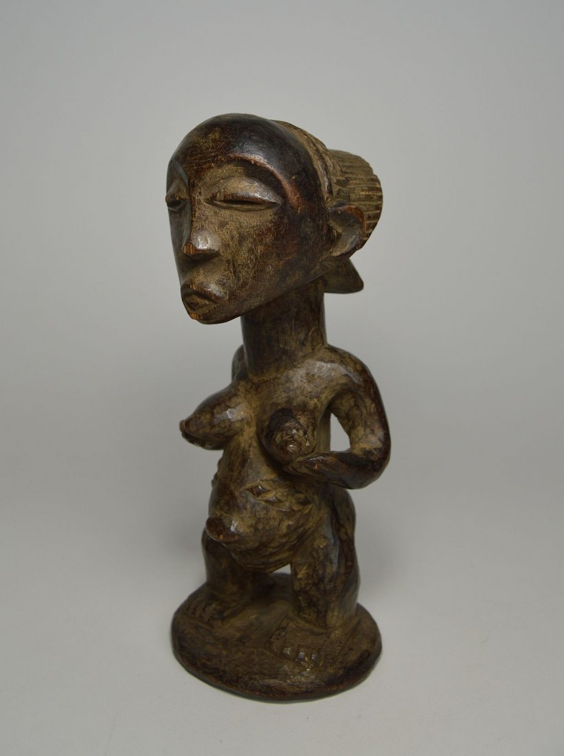 A Luba Female sculpture, African Art