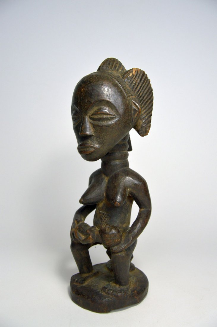 A Luba Maternity Sculpture, African Art - 2