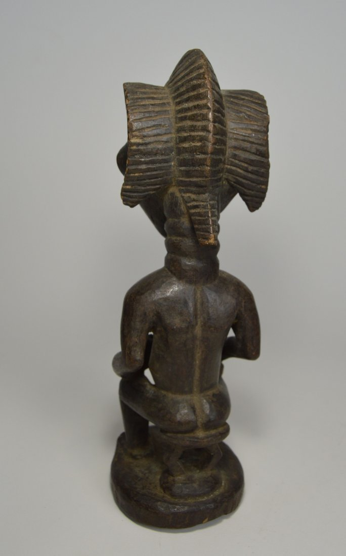 A Luba Maternity Sculpture, African Art - 4