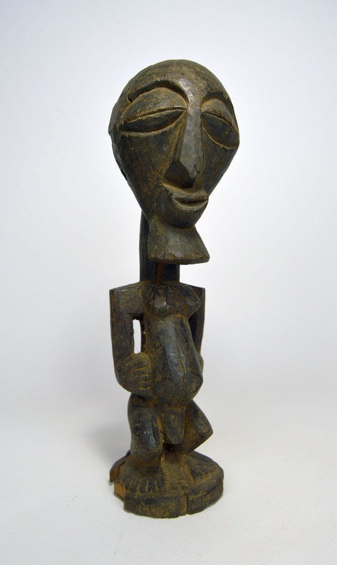 Interesting Vintage Songye male figure, African Art - 4