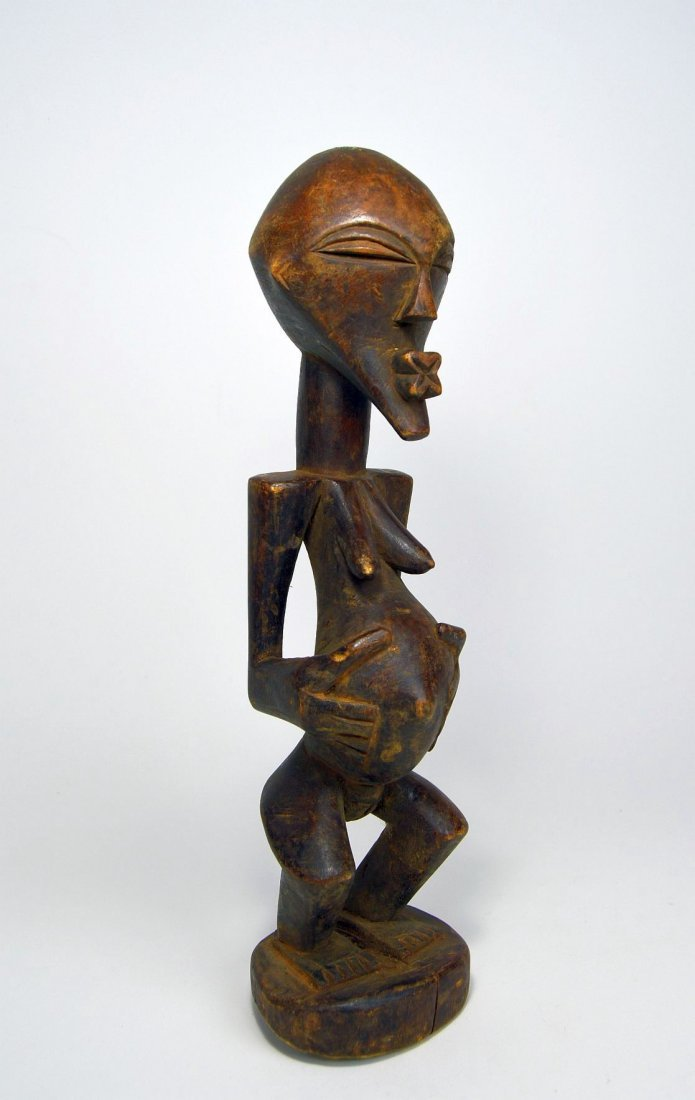 Lovely Vintage Songye female sculpture, African Art