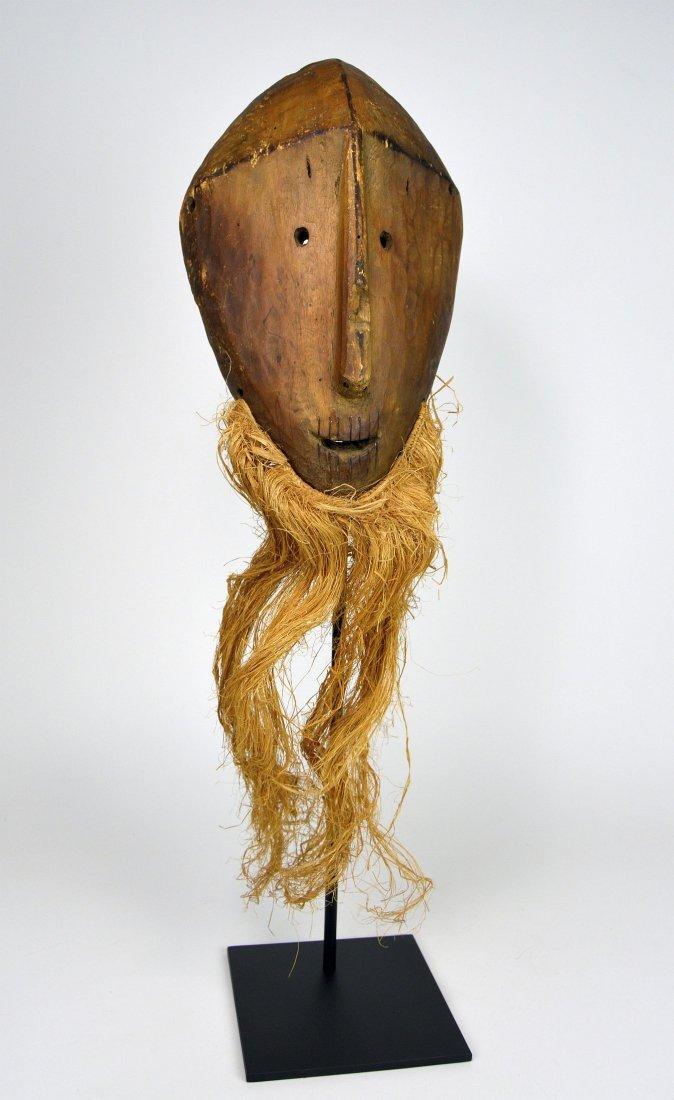 Primitive Lega Bwami Society African mask