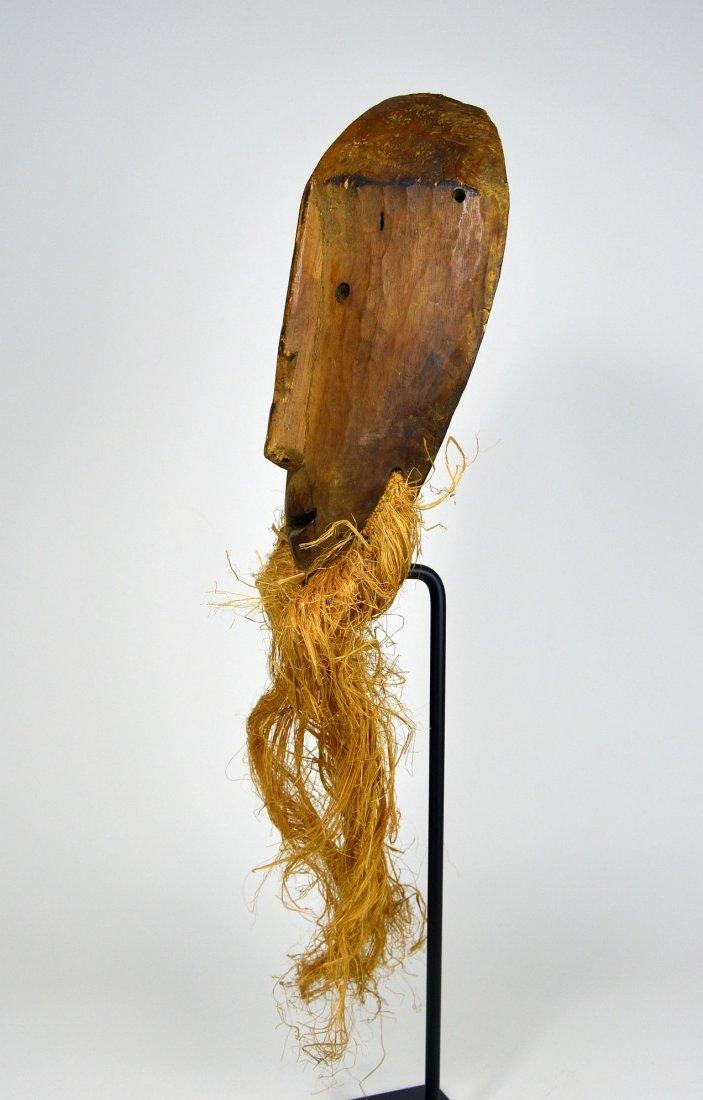 Primitive Lega Bwami Society African mask - 6