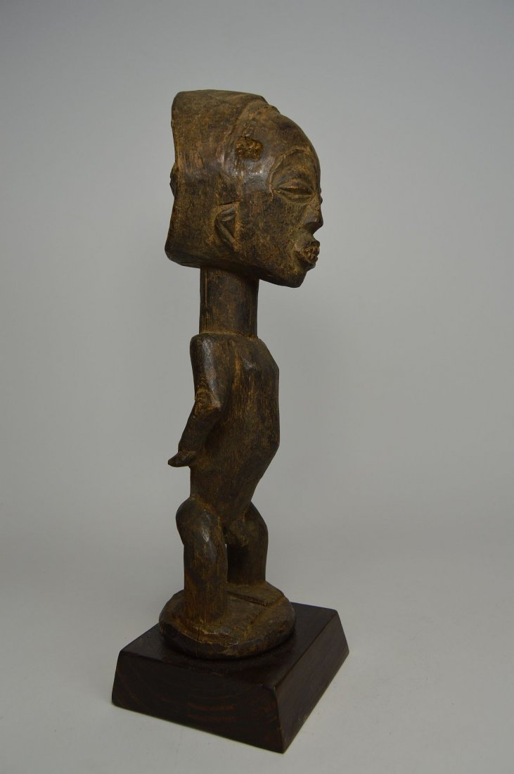 Primitive old Captive Slave Hemba Statue, African Art - 3