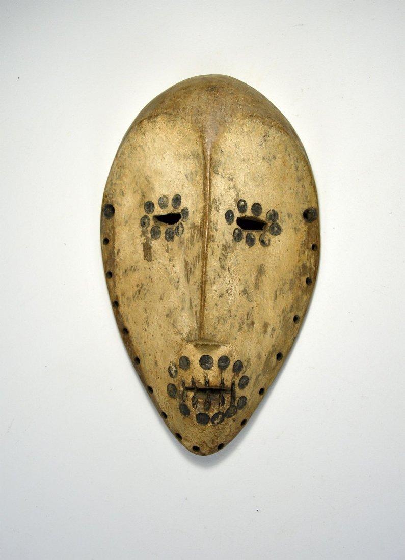 Archaic Lega Bwami Society African mask