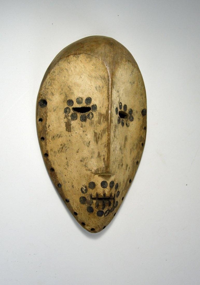 Archaic Lega Bwami Society African mask - 2