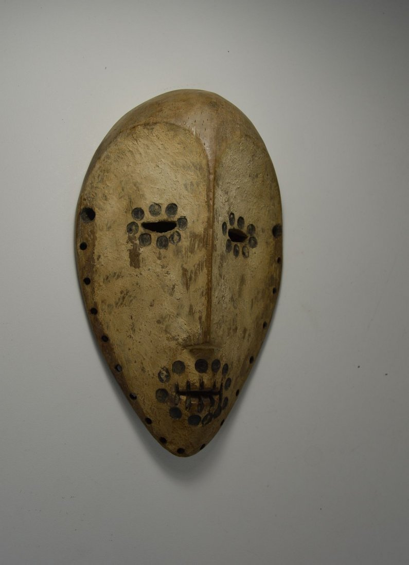 Archaic Lega Bwami Society African mask - 3
