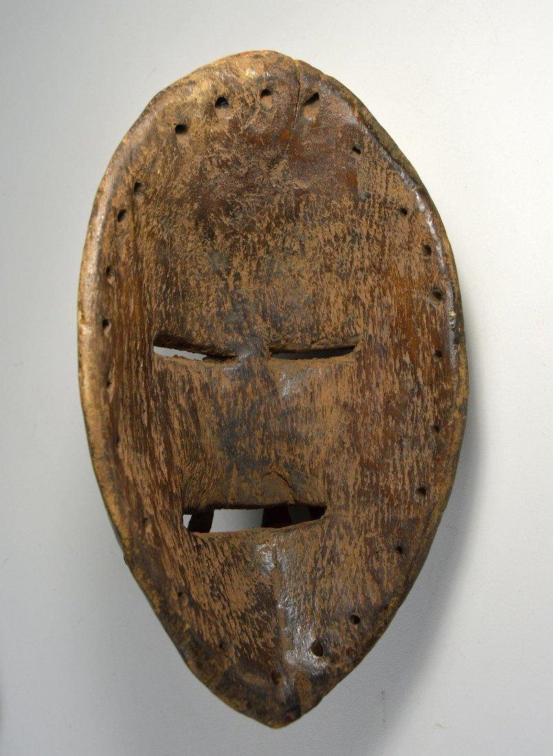 Fierce Dan mask with Large teeth, African Art - 4