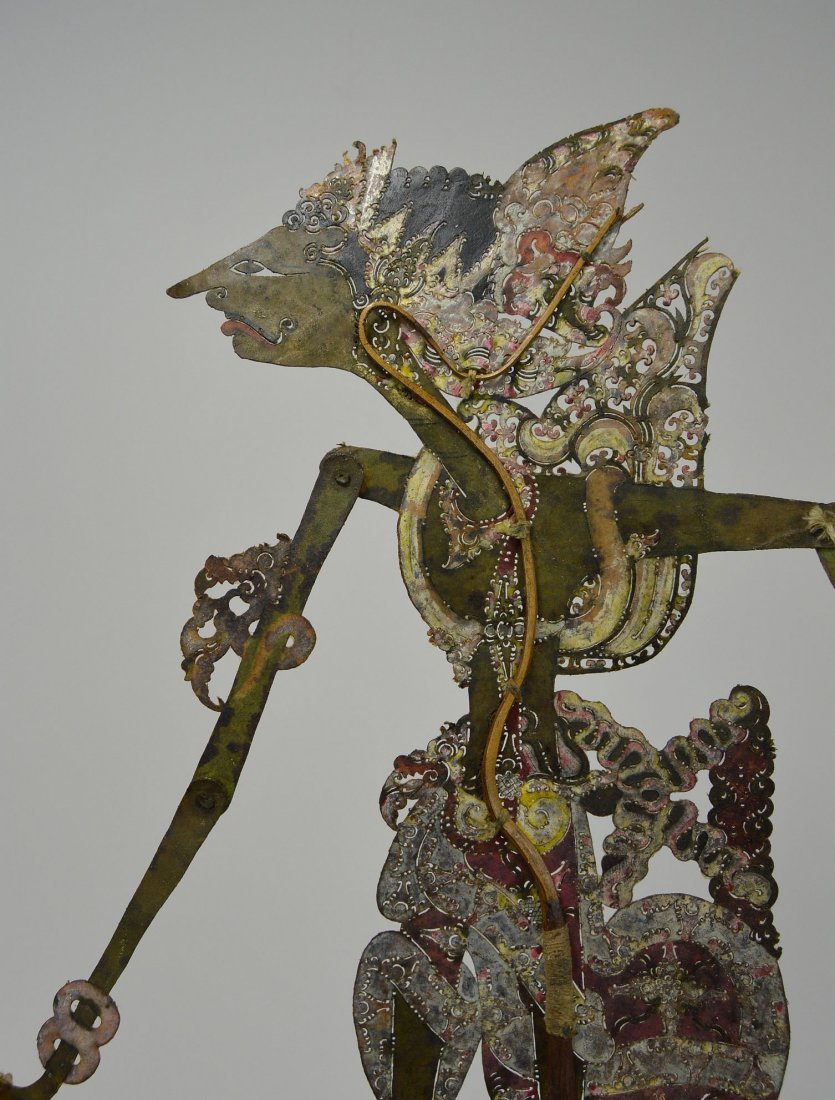 Antique Wayang Kulit Shadow Puppet from Java