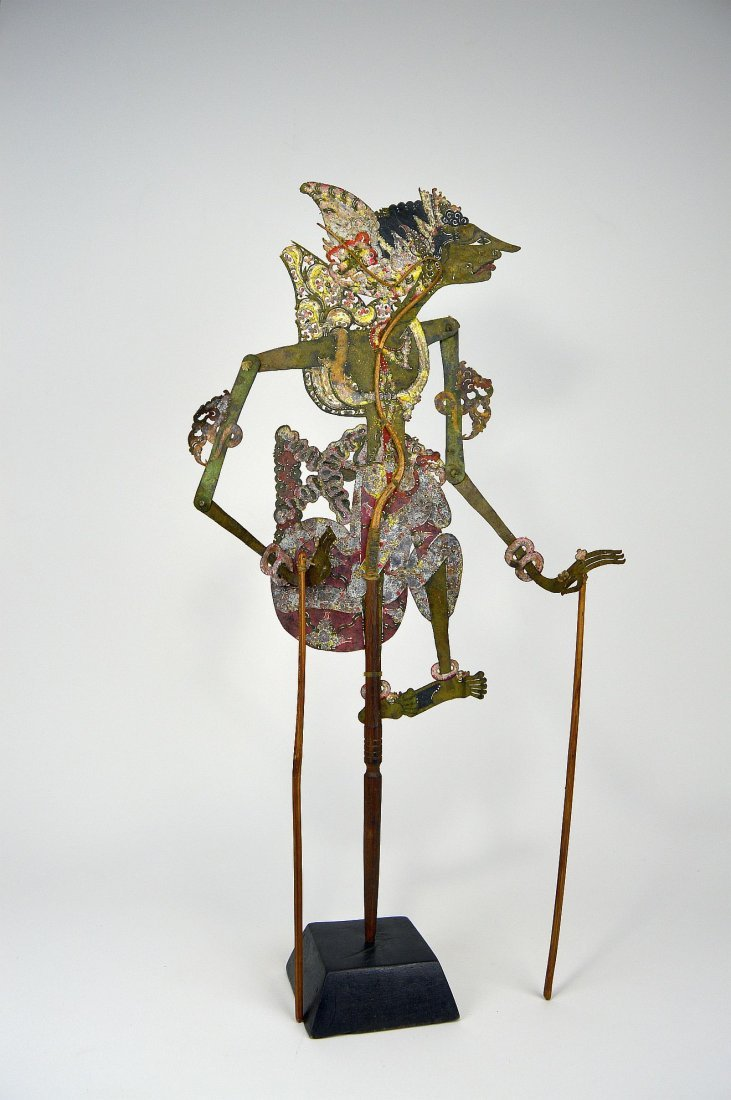 Antique Wayang Kulit Shadow Puppet from Java - 2