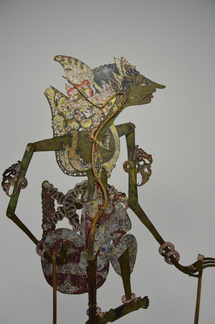 Antique Wayang Kulit Shadow Puppet from Java - 3