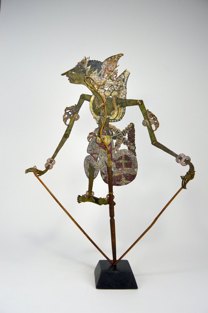 Antique Wayang Kulit Shadow Puppet from Java - 4