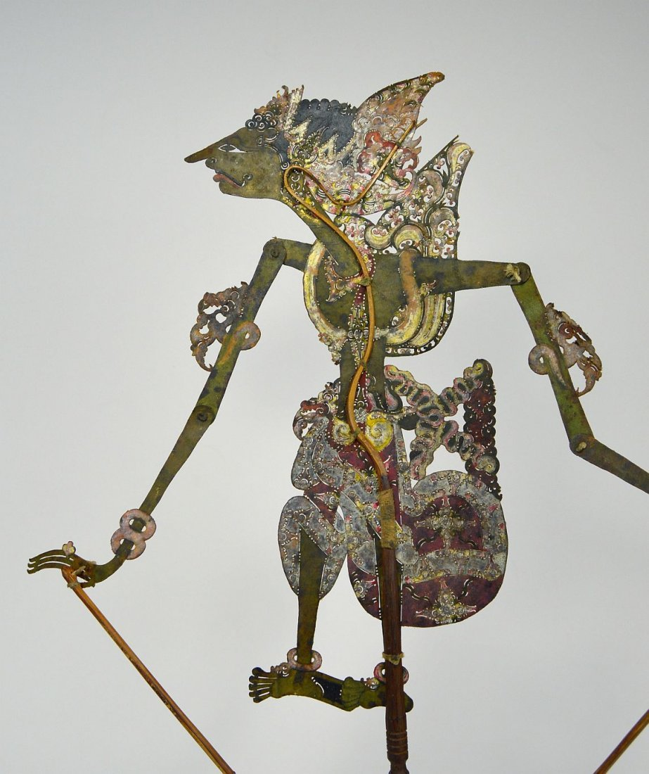 Antique Wayang Kulit Shadow Puppet from Java - 5
