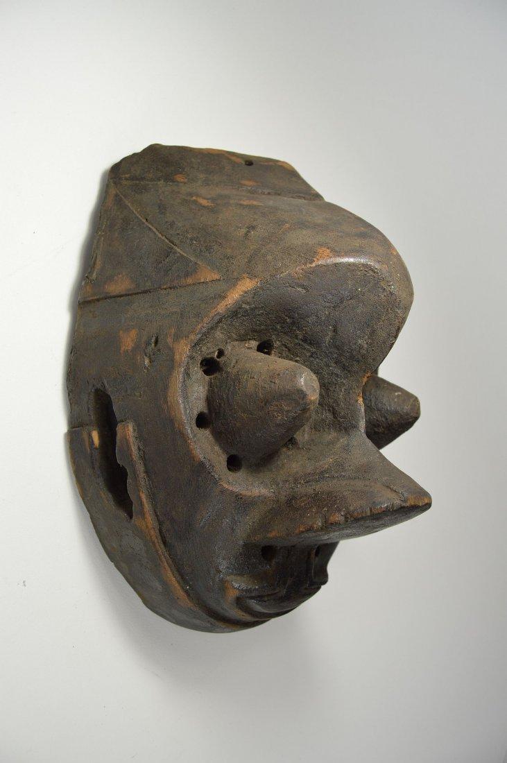 Vintage Kuba Pwoon Itok, African Mask