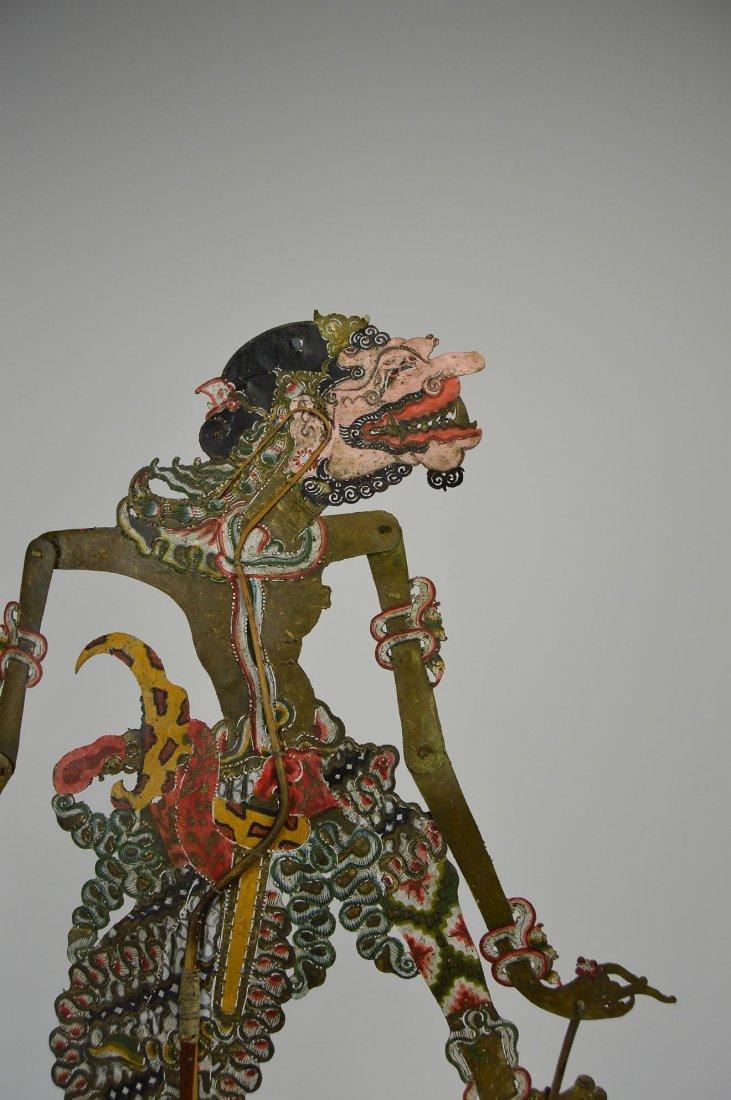 Rakshas Berta Durga Antique Wayang Kulit