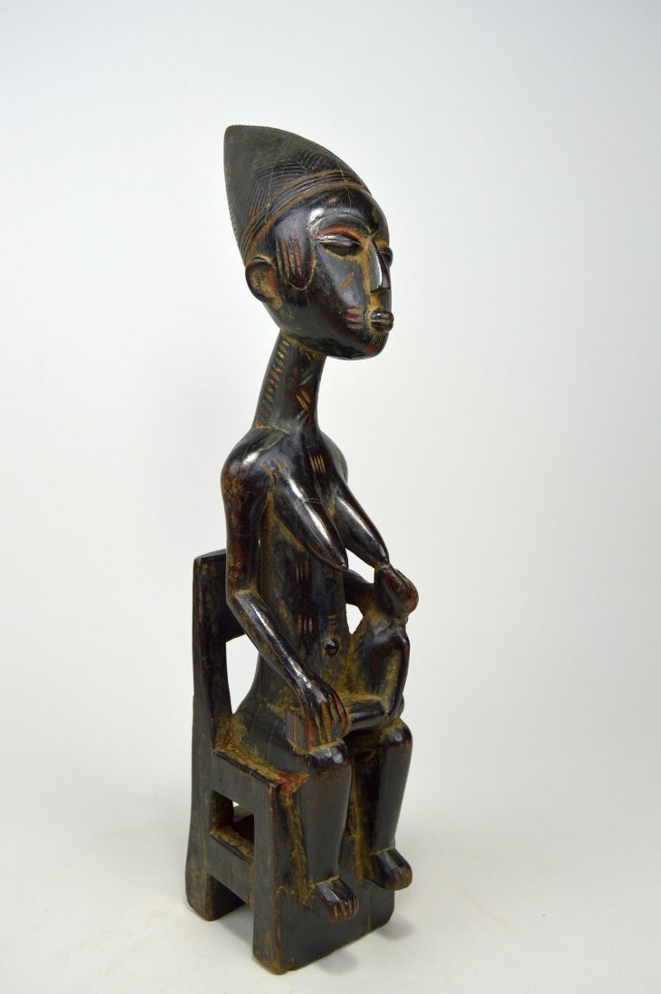 A Fine Kulongo Mother & Child sculpture